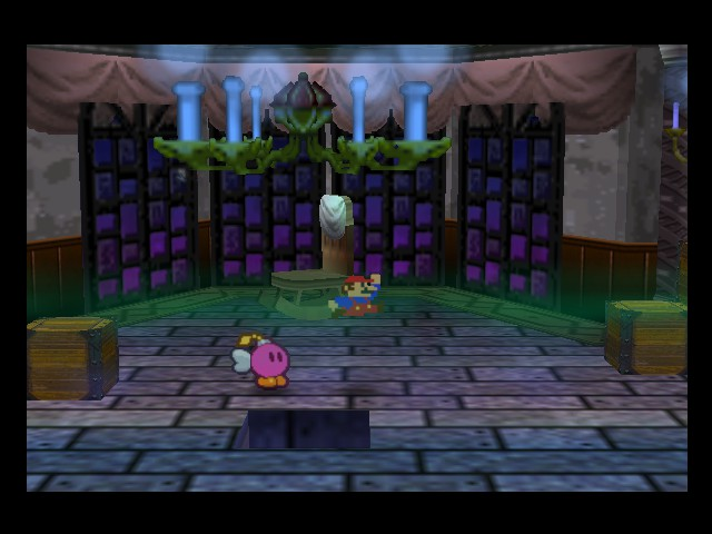 Paper Mario - Location boomansion - It